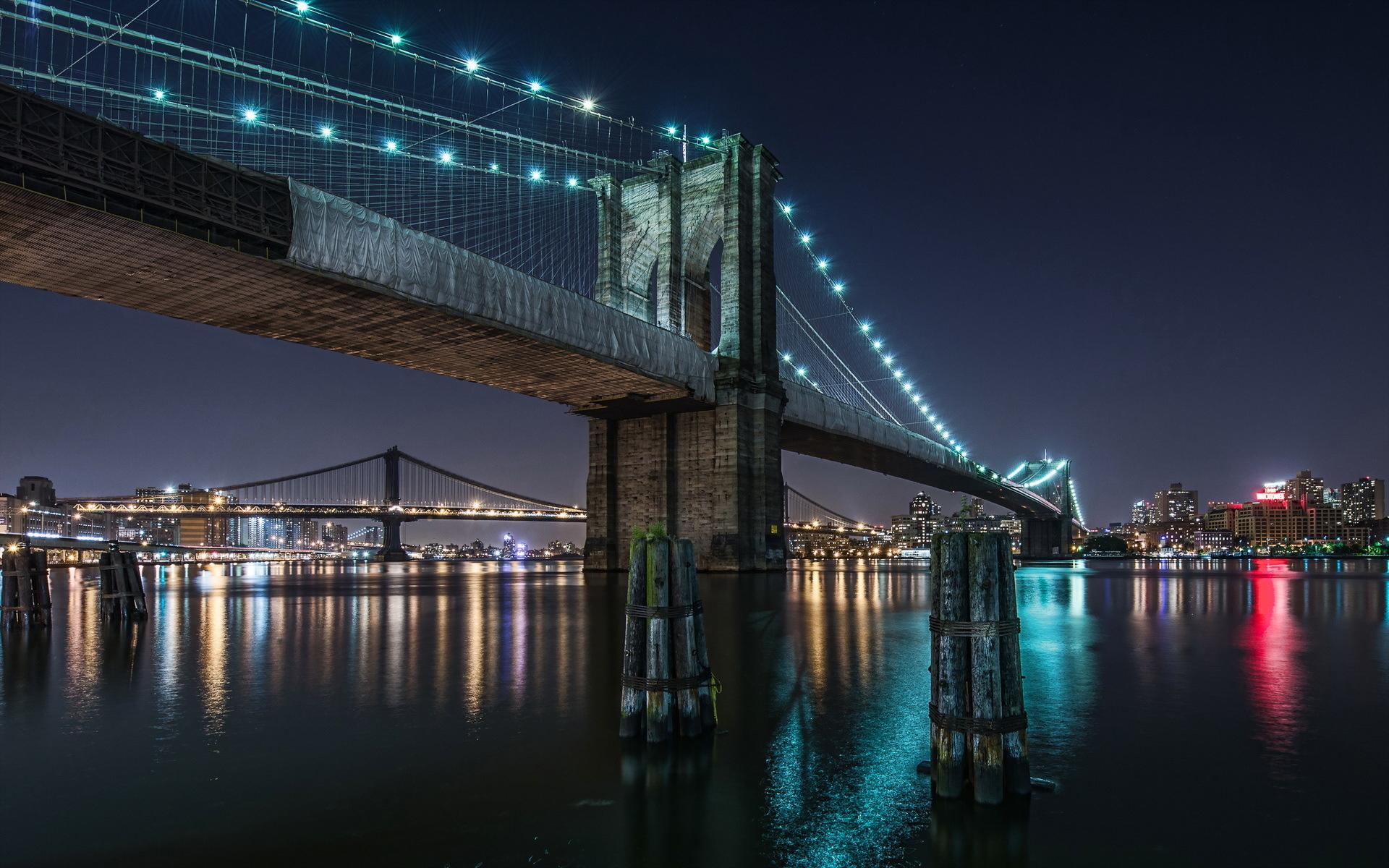 Brooklyn Bridge Wallpaper for Desktop 1920x1200