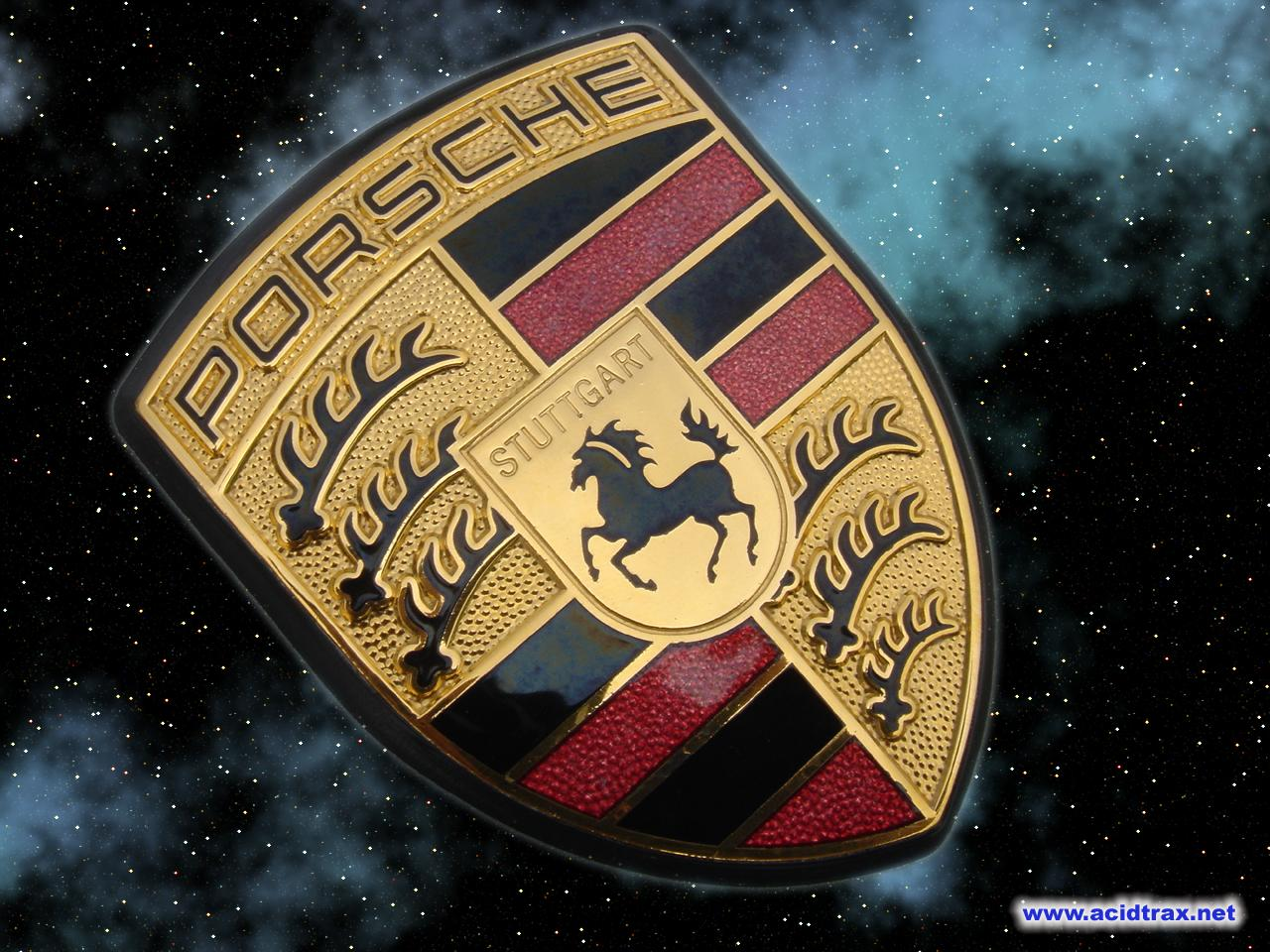 Porsche Logo Wallpaper Wallpapersafari