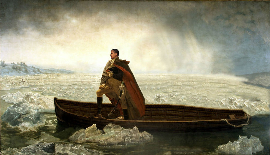 Washington Crossing The Delaware Wallpaper