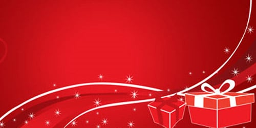 How to Create Christmas Wallpapers or Backgrounds 500x250