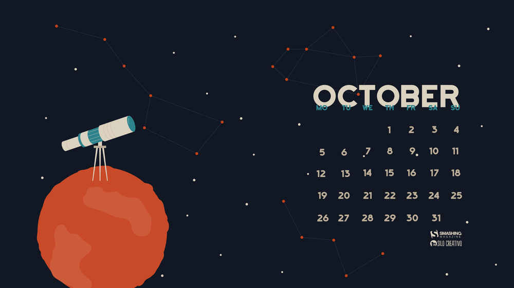 Desktop Wallpaper Calendars: October 2015 – Smashing Magazine