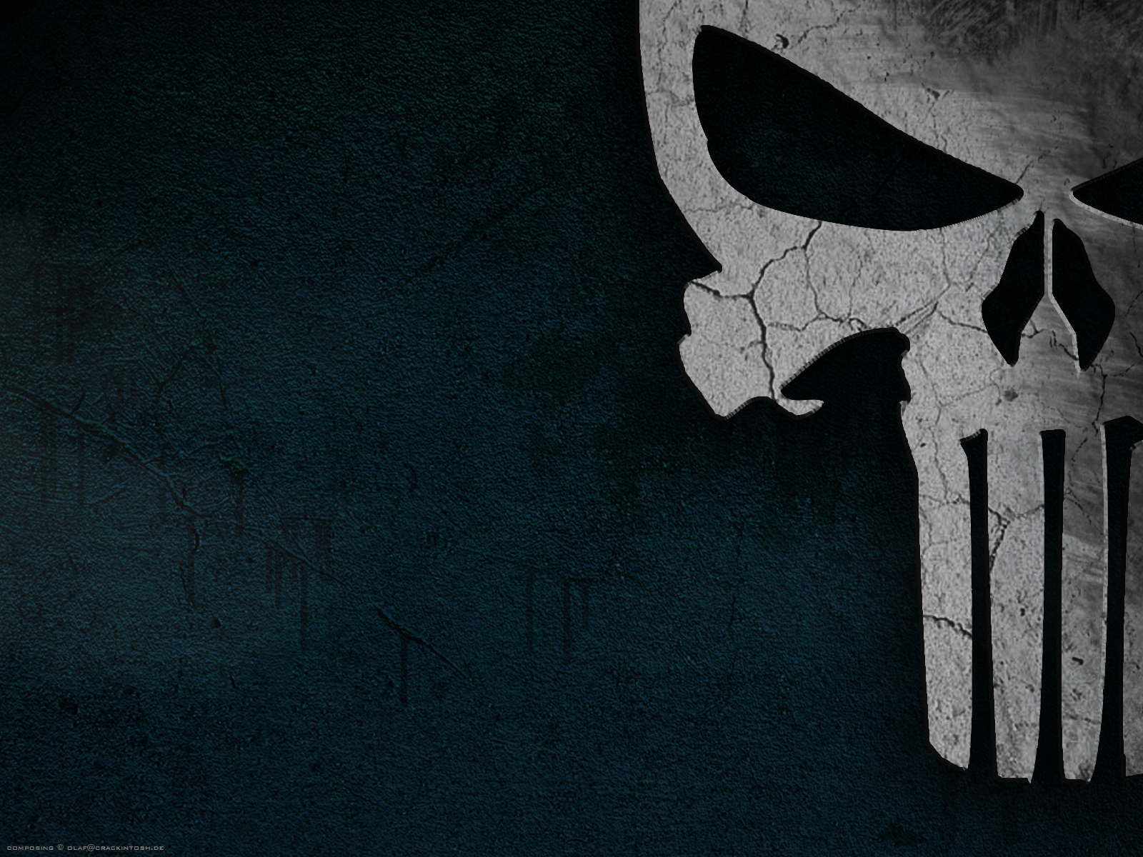 skull wallpaperscombulkuploadwallpapersScary Skullsthe punisher 1600x1200