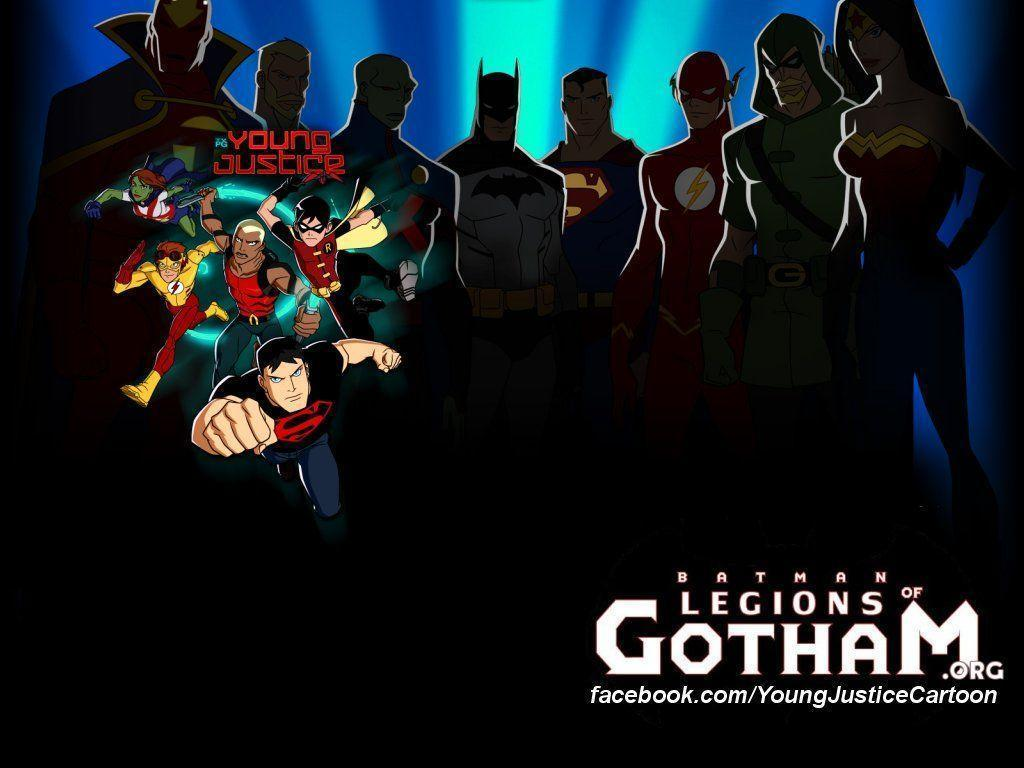 Young Justice Wallpapers 1024x768