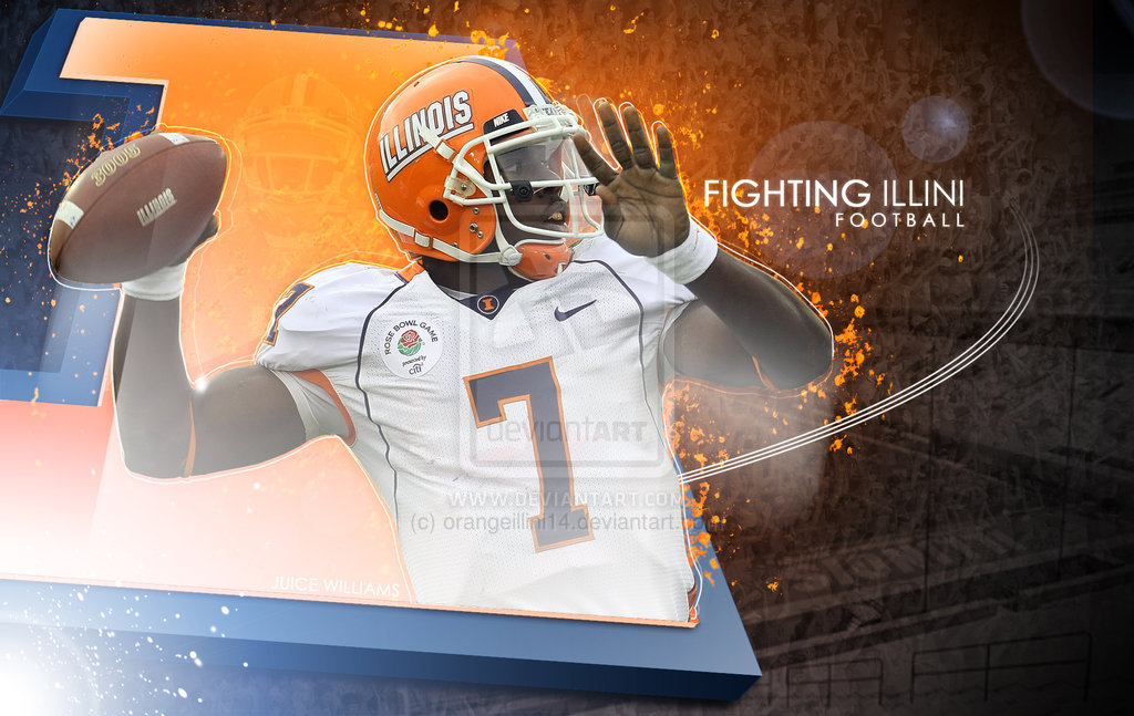 Fighting Illini Football by orangeillini14 on deviantART 1024x647