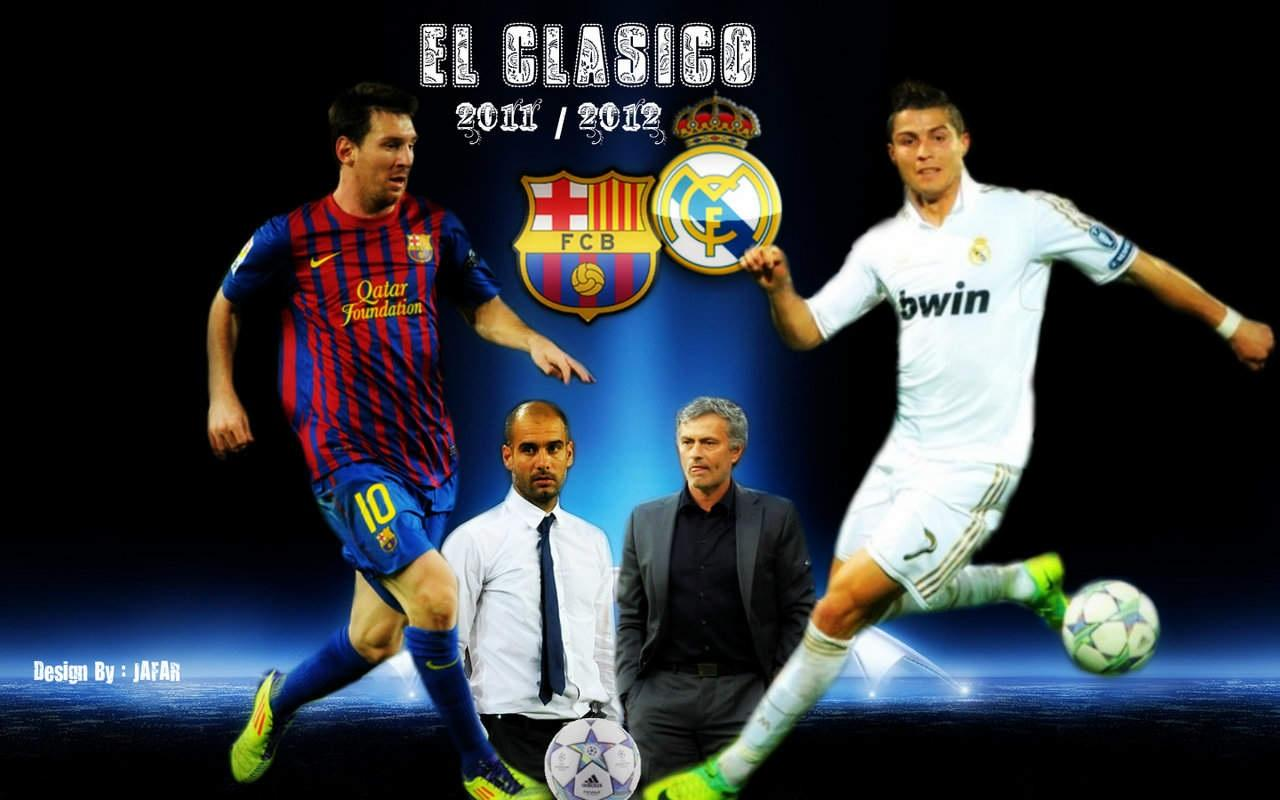 Barcelona Vs Real Madrid Papel de parede Hd foto compartilhado por 1280x800