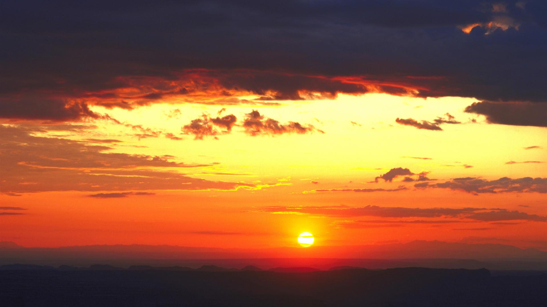 Backgrounds Navajo Arizona Desktop Sunset National Background Monument 1920x1080