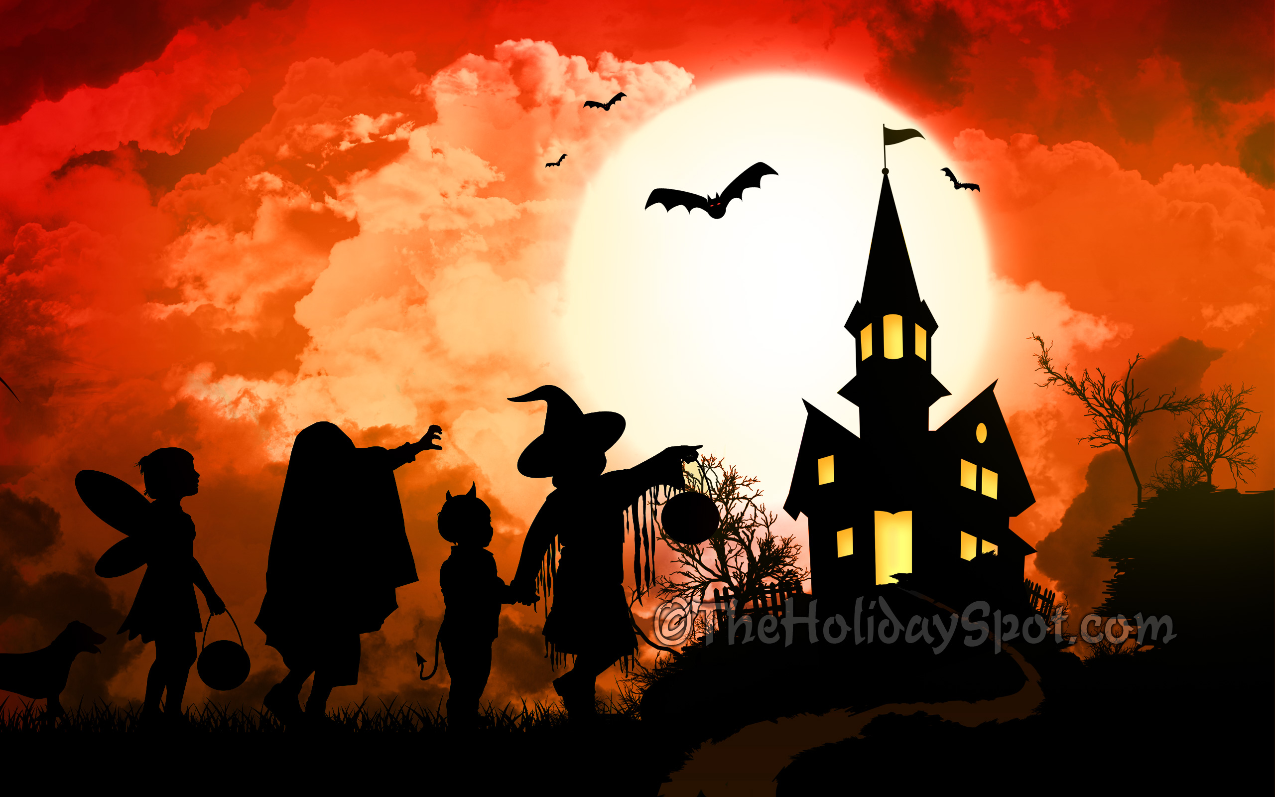 Halloween Wallpapers And Screensavers Wallpaper background 2560x1600