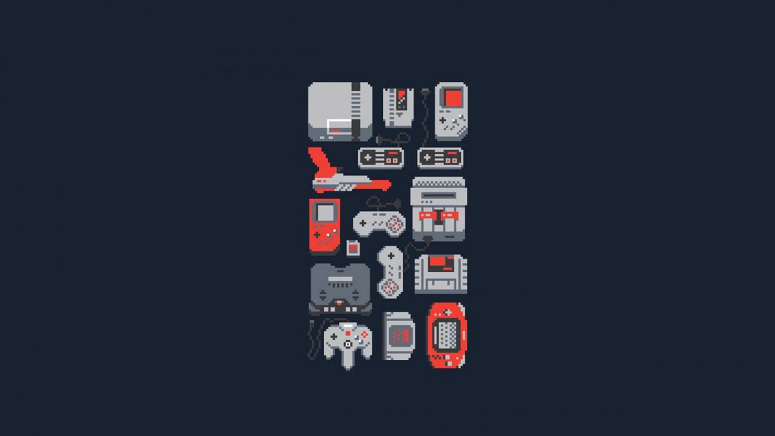 29955 retro gaming wallpaper 2560x1440