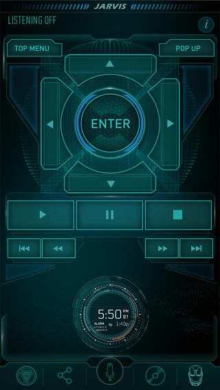 Marvels Iron Man 3   JARVIS A Second Screen Experience on the App 320x568
