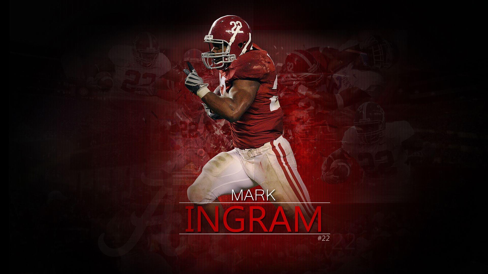 Mark Ingram Yea Alabama Yall Ready To Rolllll Tide Football 1920x1080