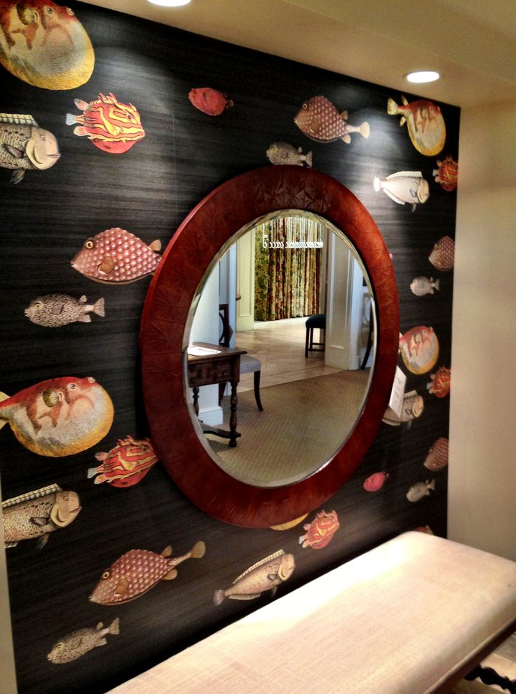 cole and son acquario wallpaper wallpapersafari. Black Bedroom Furniture Sets. Home Design Ideas