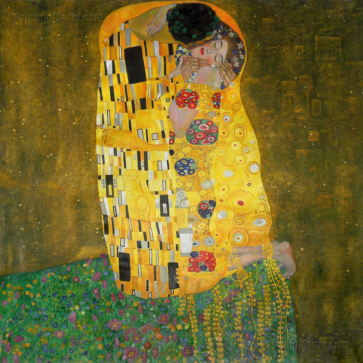 Klimt The Kiss Wallpaper The Kiss Klimt Wallpap...