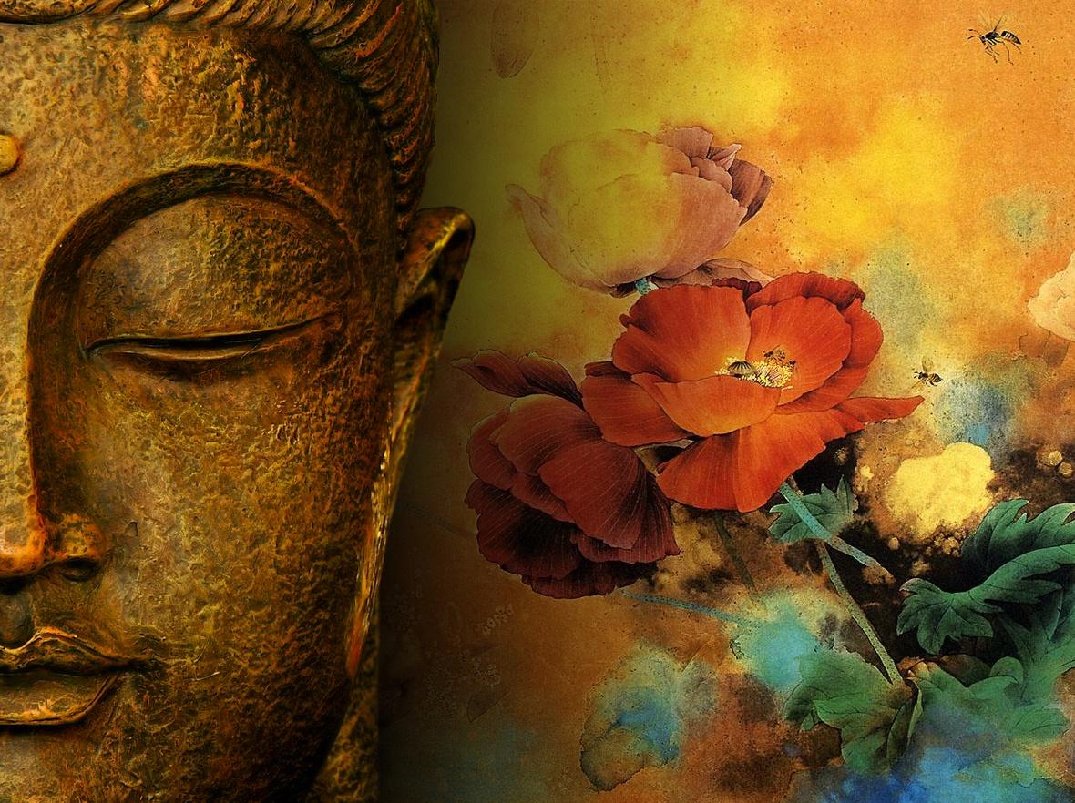 Buddha Chinese Art   Zen Wallpaper 1180x882