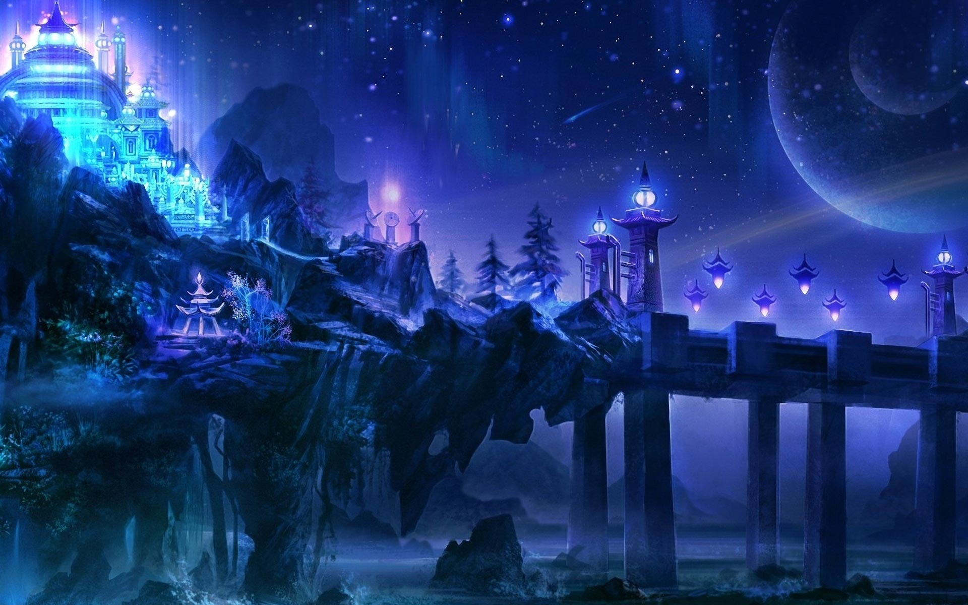 Fantasy Landscape Wallpapers 1920x1080   Share Online 1920x1200