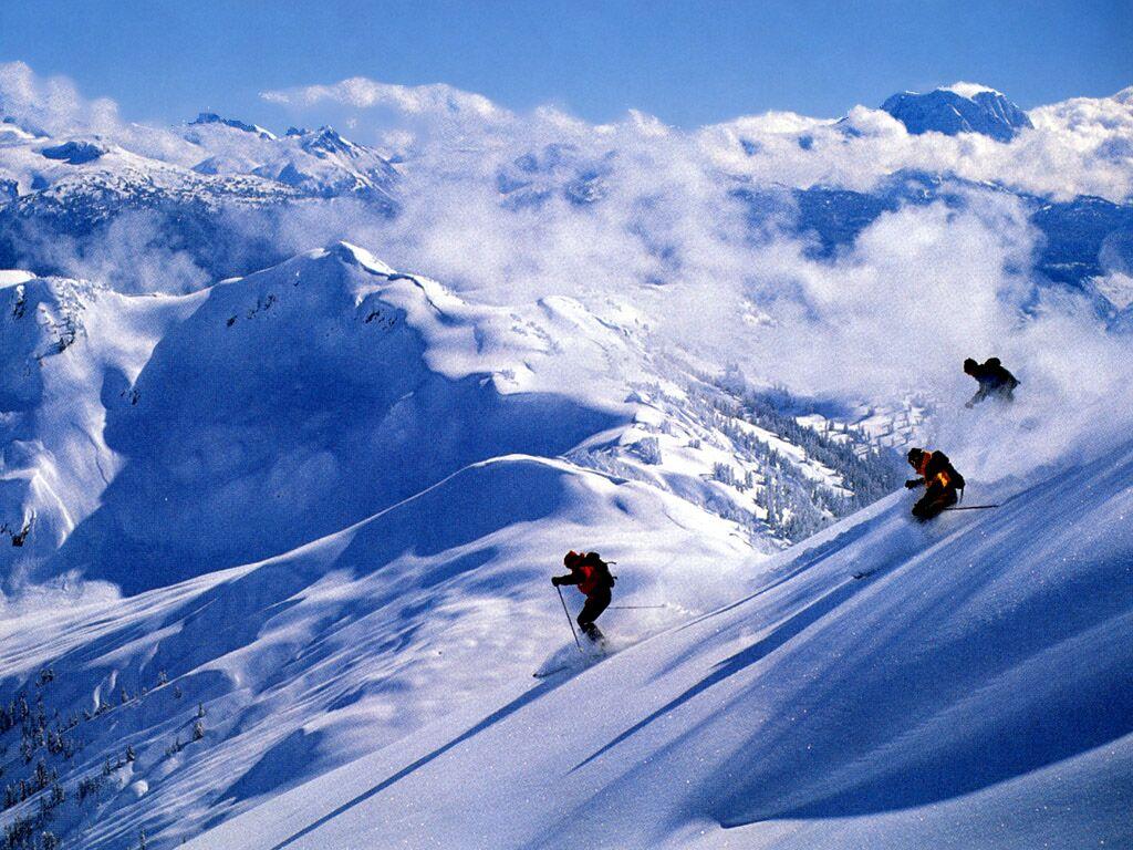 Snow skiing wallpaper wallpapersafari - Ski wallpaper ...