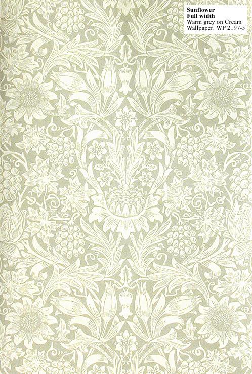7fbe6dd4d348 Download Silk Felt Soil william morris wallpaper sunflower [498x739 ...