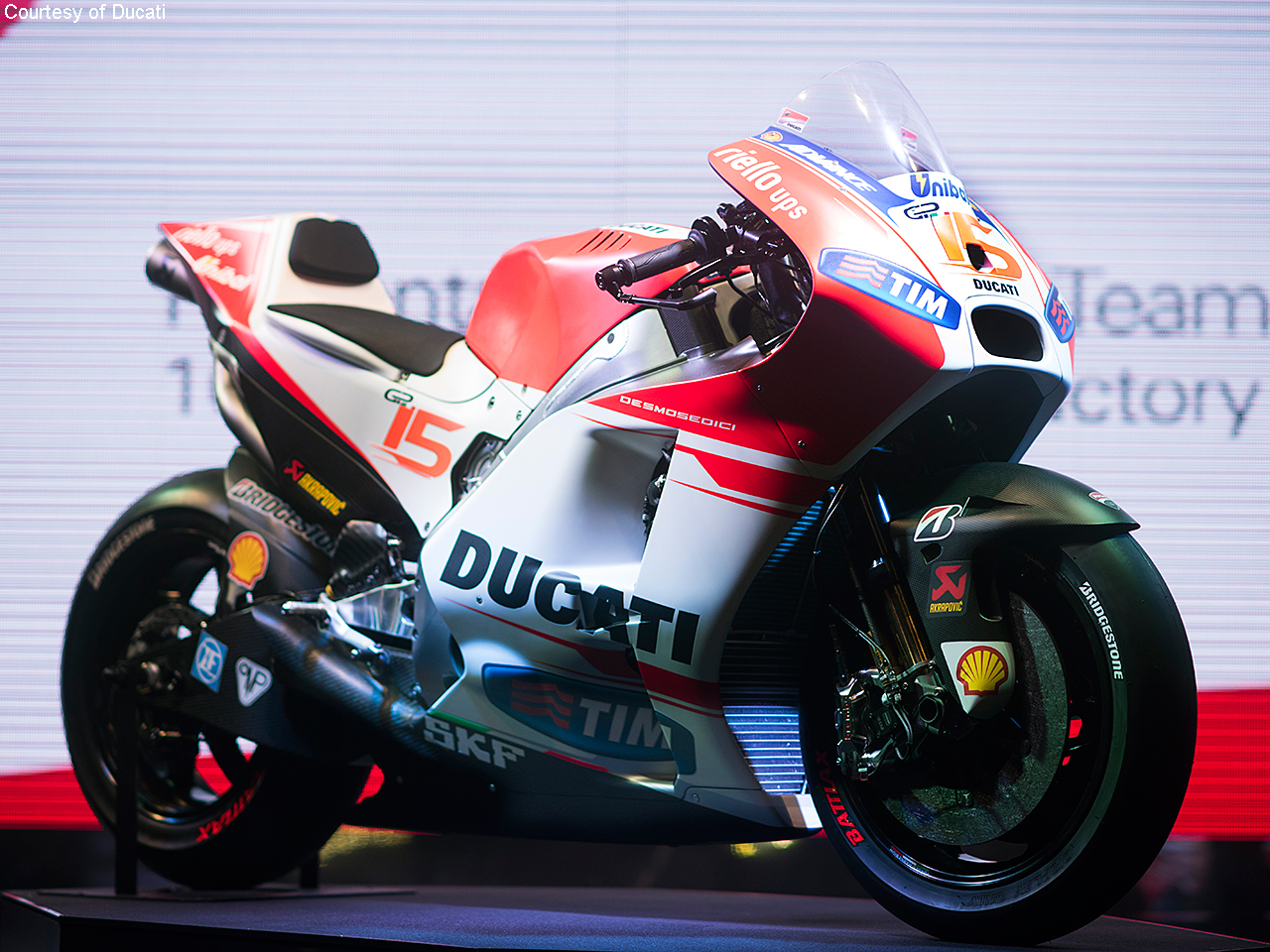 The first to speak was Claudio Domenicali CEO of Ducati Motor Holding 1280x960