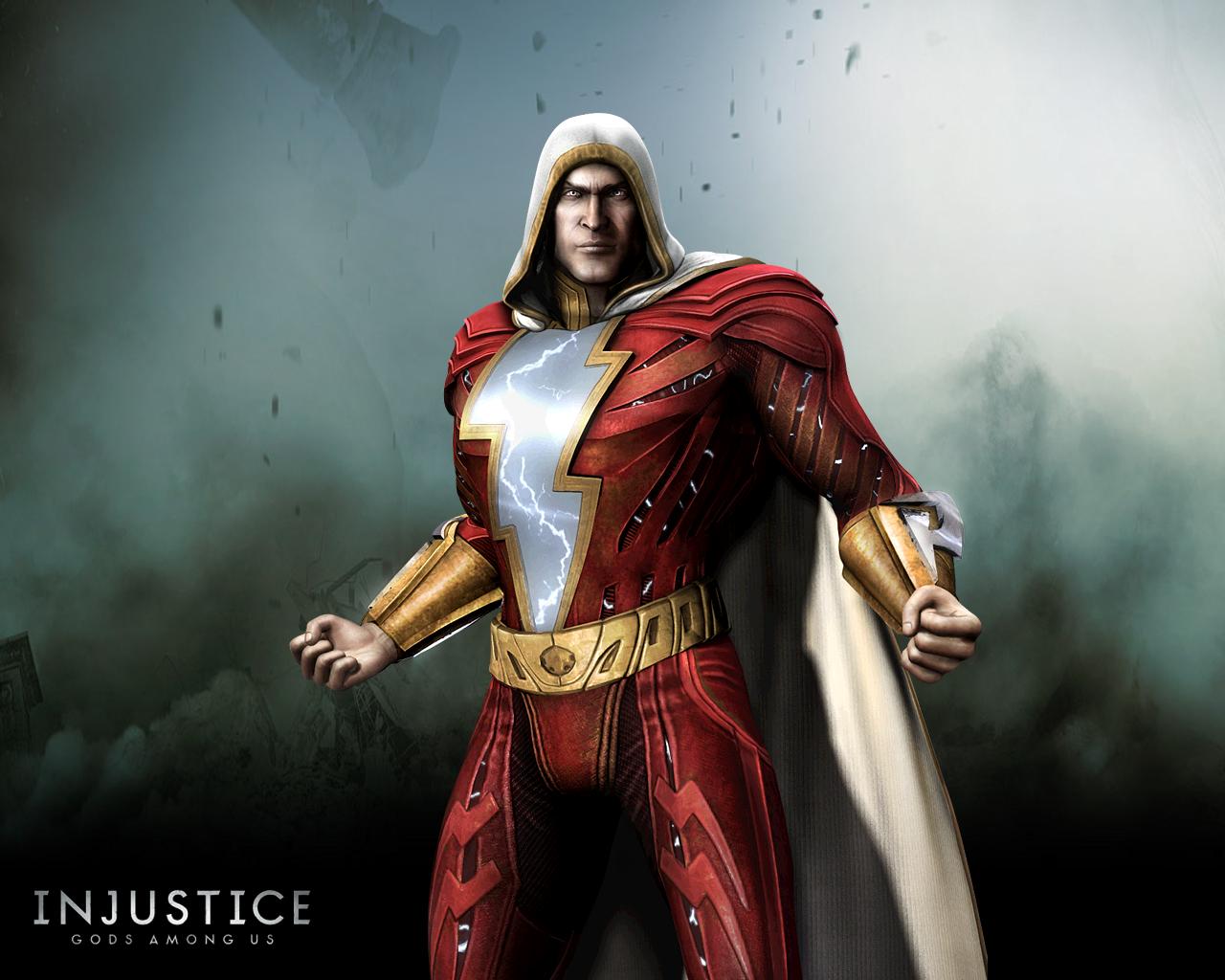 Shazam Captain Marvel Injustice