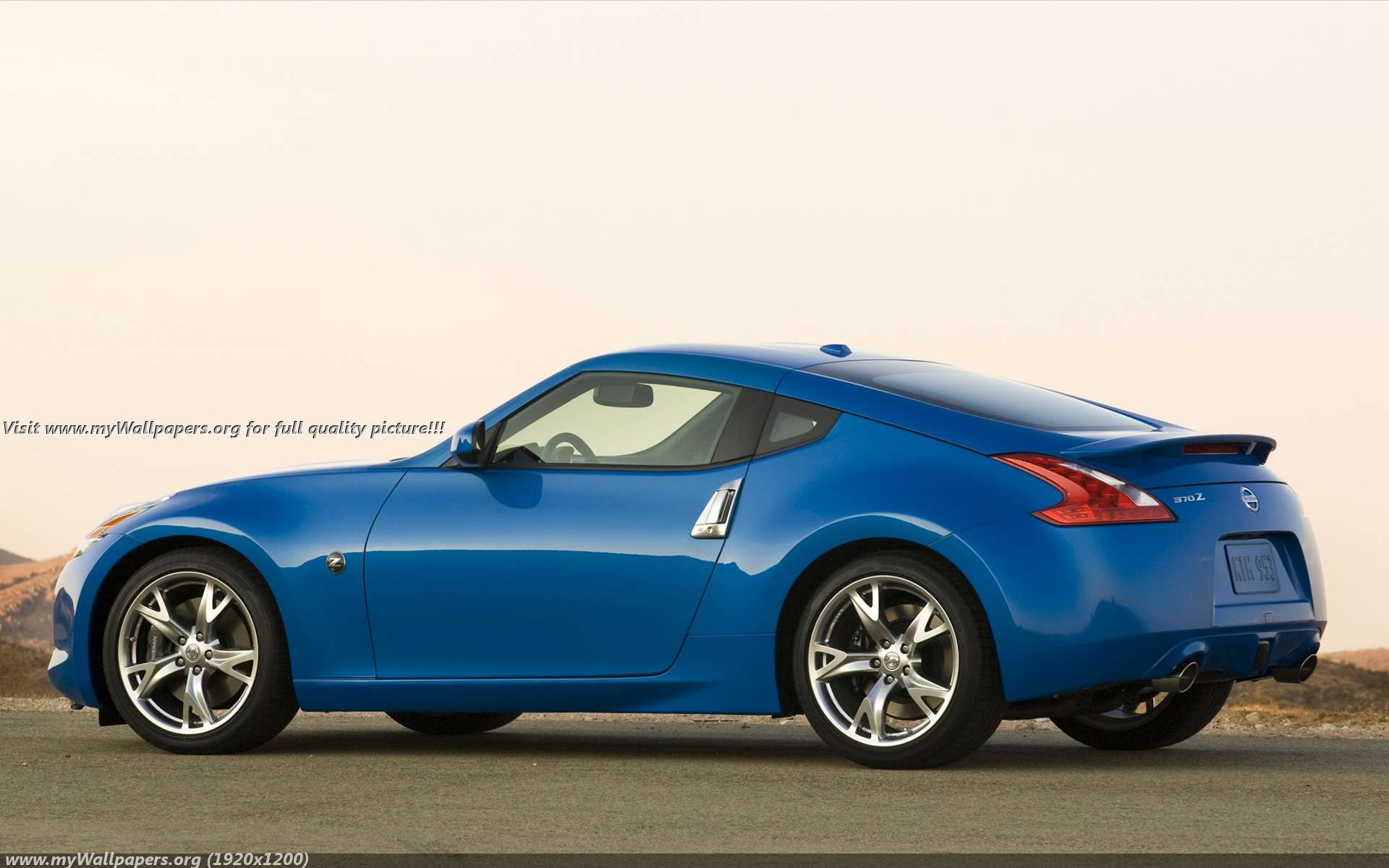 Nissan 370z Wallpaper Widescreen Wallpapersafari