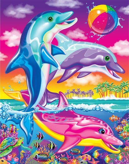 lisa frank dolphin 432x546