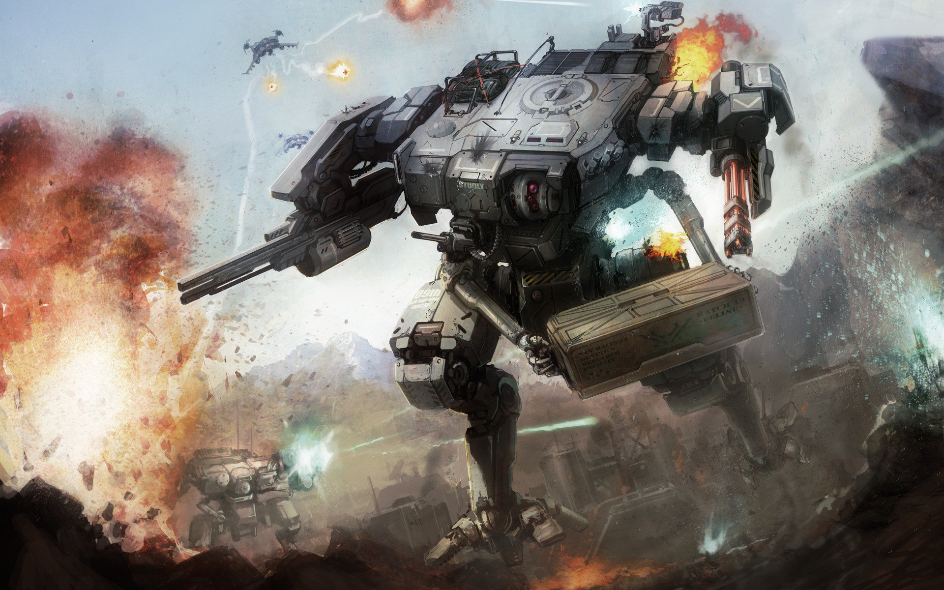 Mechwarrior Online Wallpaper 3 1920x1200