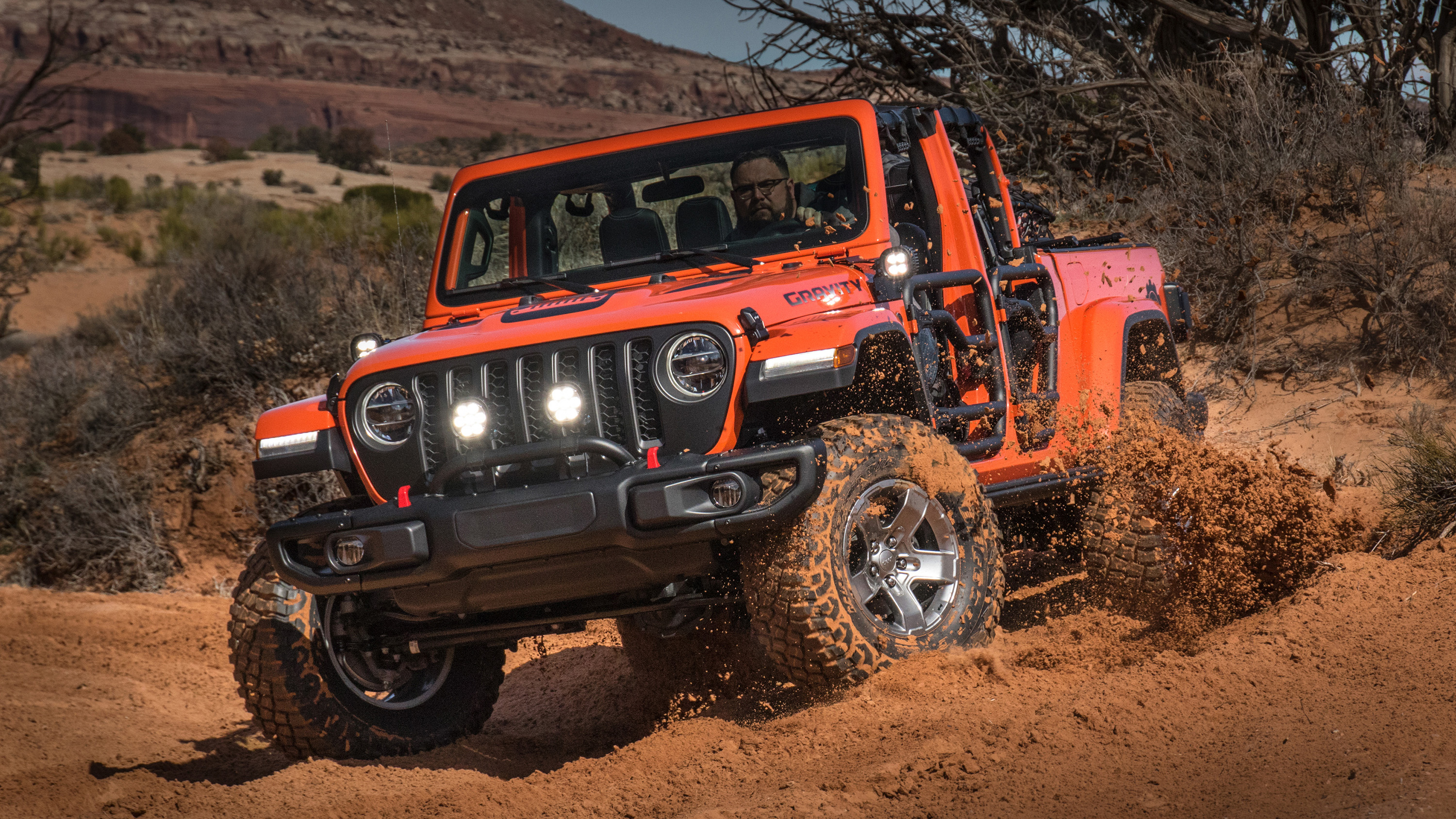 Jeep Gladiator Gravity 2019 Wallpaper HD Car Wallpapers ID 12425 3000x1688