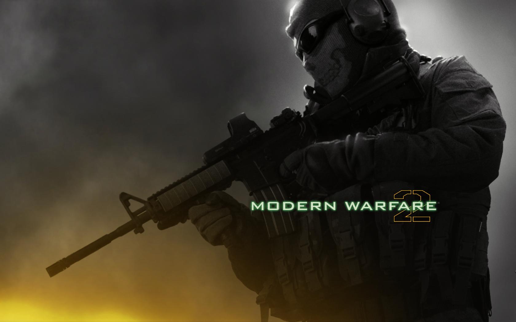 Modern Warfare 2 Ghost in the Mist Wallpaper, Modern Warfare 2 Ghost ...