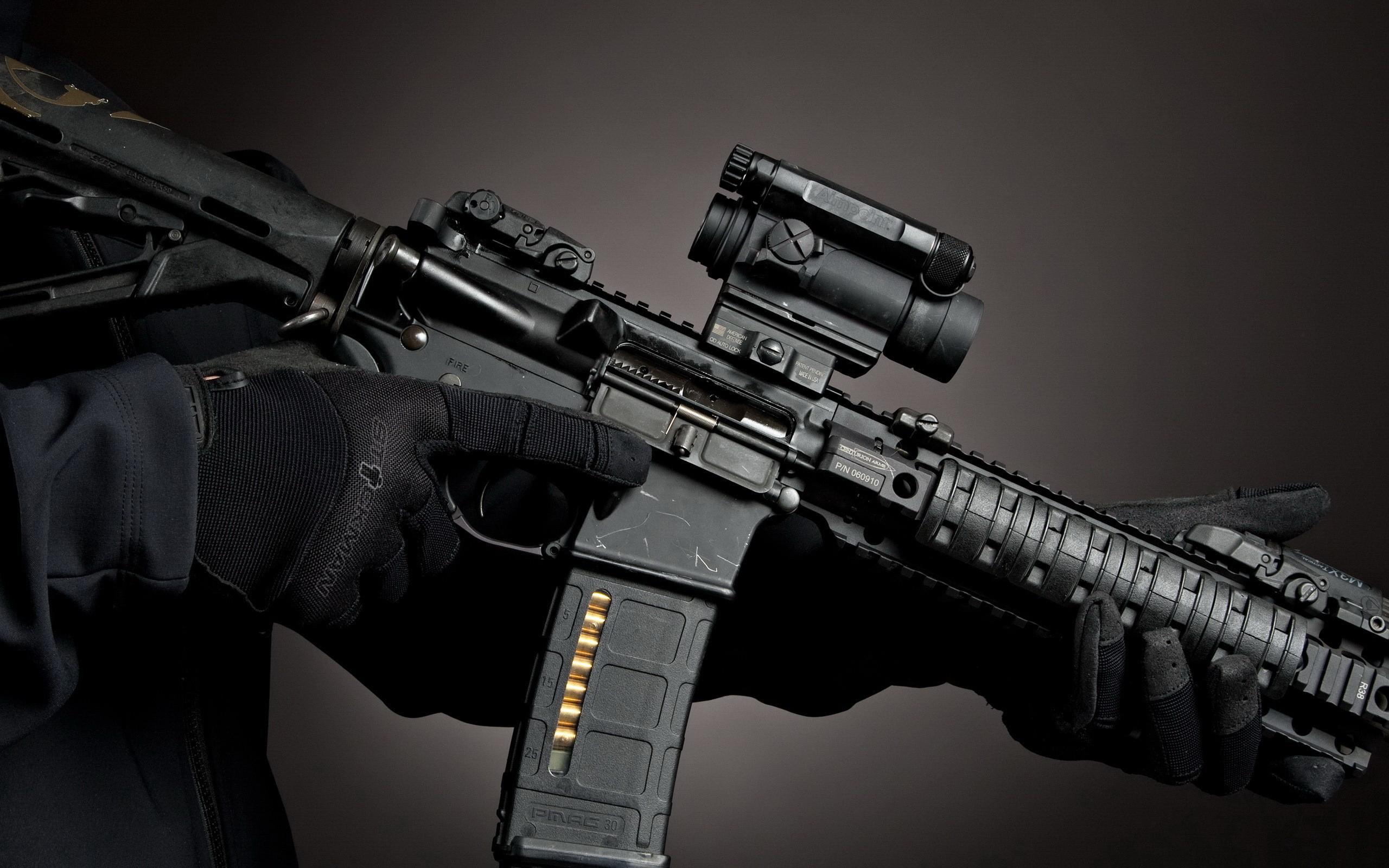 Assault Rifle Wallpapers - WallpaperSafari