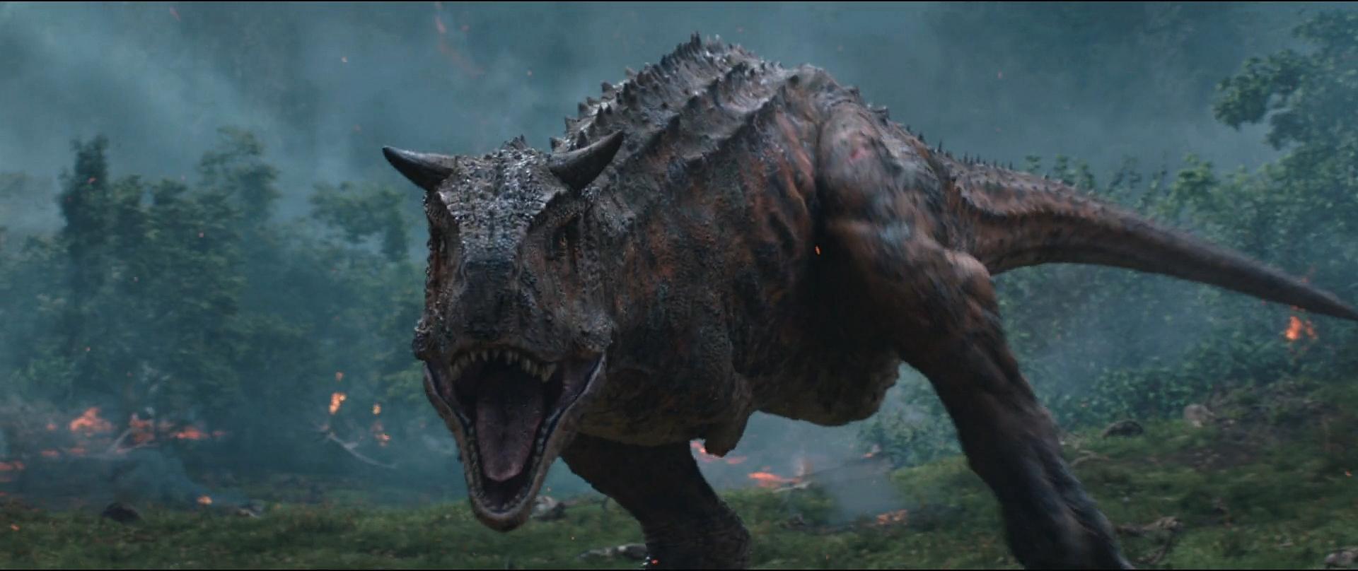 Jurassic World Fallen Kingdom Carnotaurus 2 by GiuseppeDiRosso on 1920x808