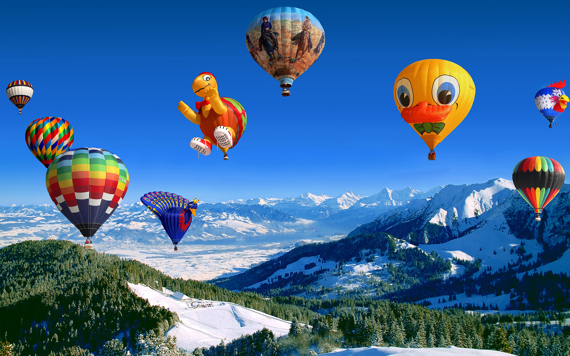 Free Download Hot Air Balloon Festival Wallpapers Hd Wallpapers