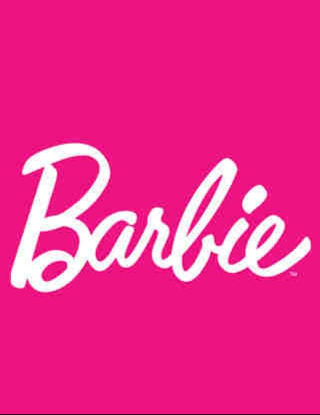Barbie Logo Wallpaper Black And Pink Barbie iphone wallpaper 640x829