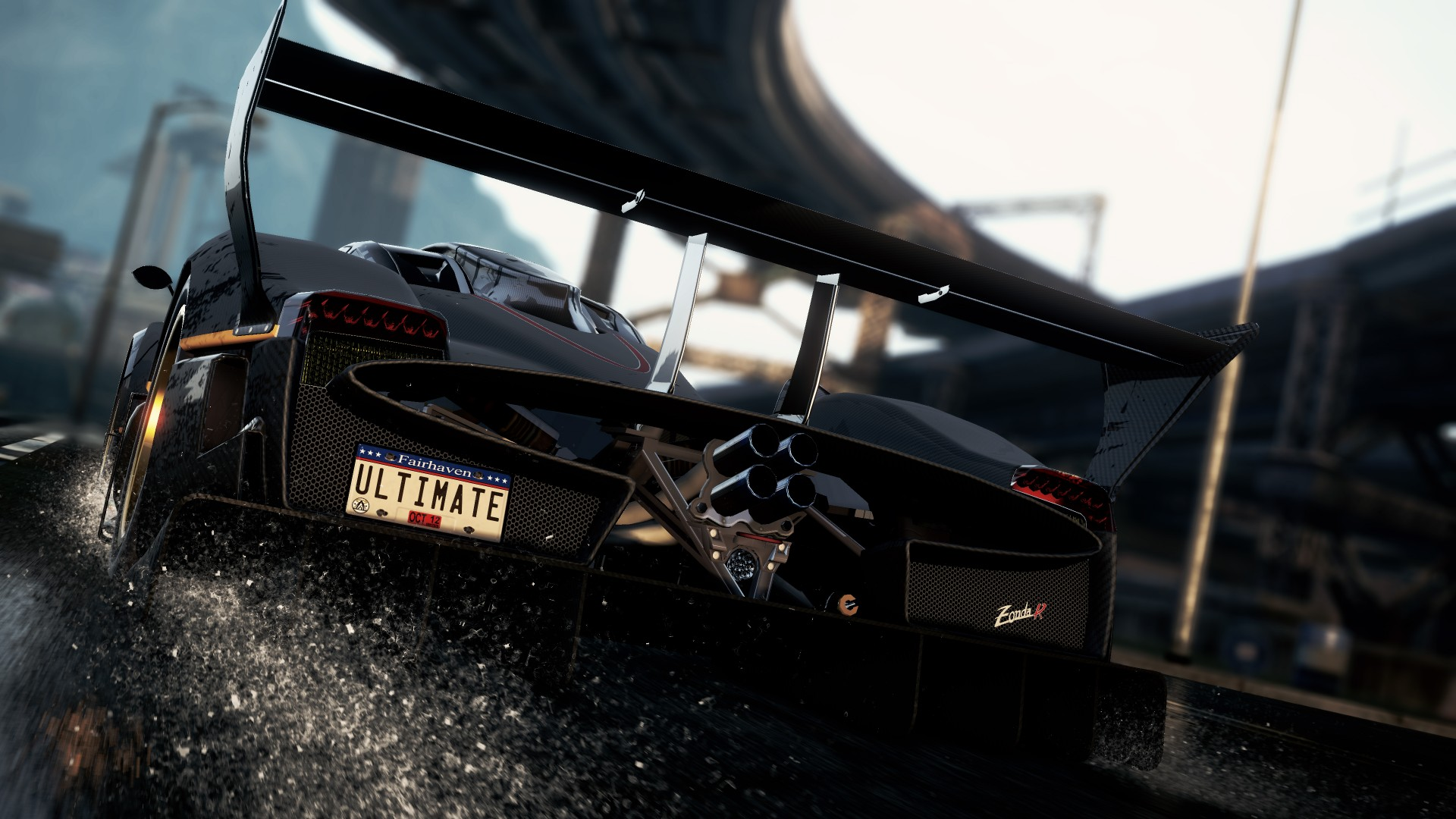 Pagani Zonda R Need for Speed Most Wanted 1080p 1920x1080 pixel 1920x1080
