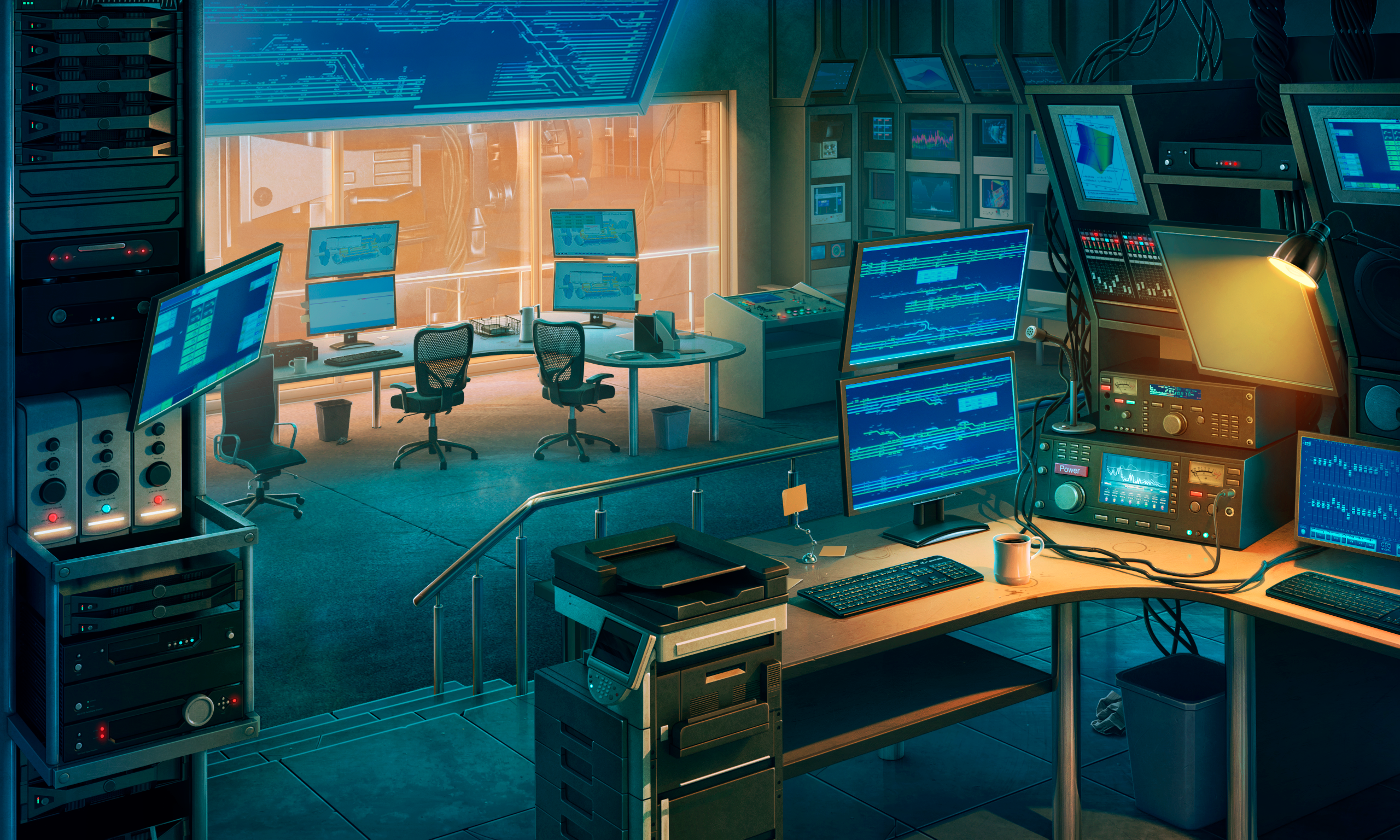 Command center xfiles background deepstate commandcenter 2560x1536