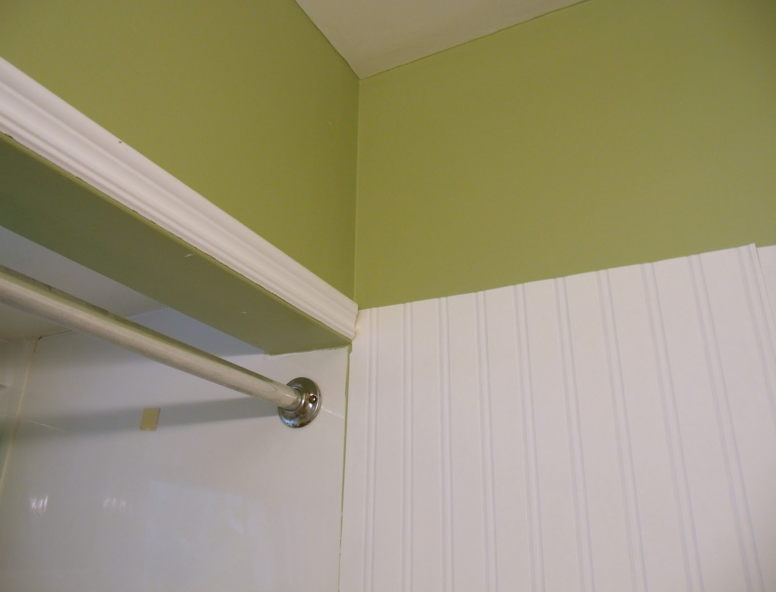 Frugal Family Times How to Install Beadboard Paintable Wallpaper 1600x1221