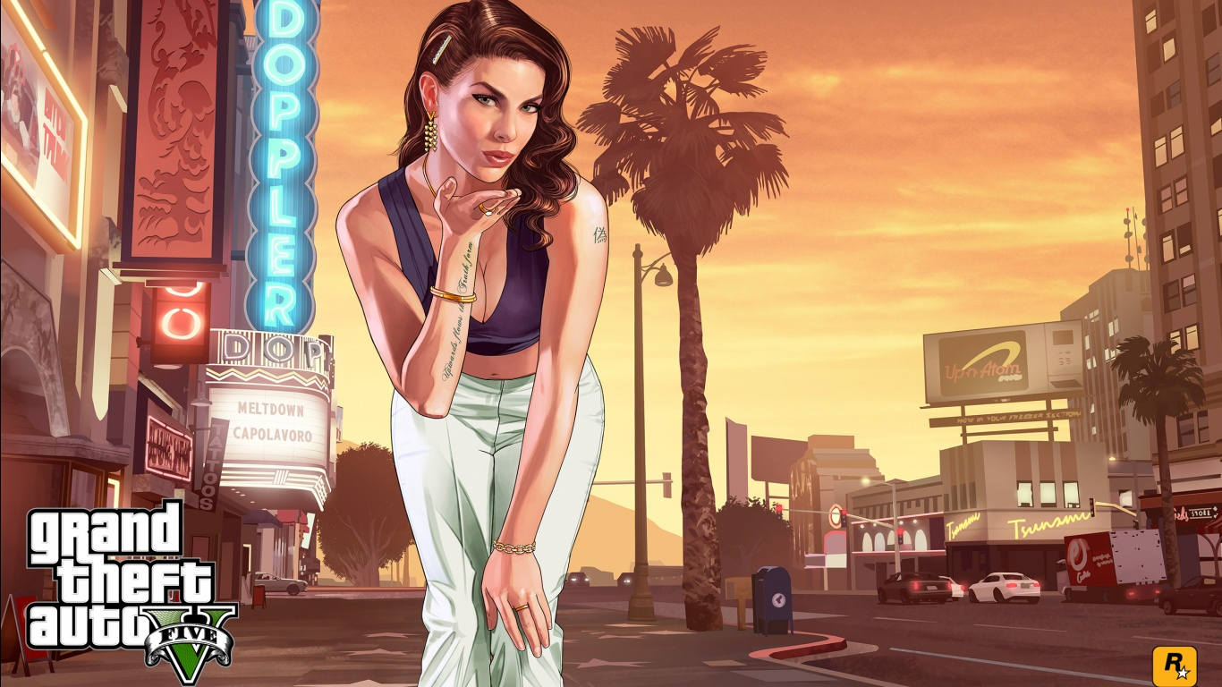Starlet GTA 5 Wallpapers HD Wallpapers 1366x768
