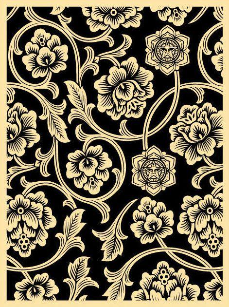 shepard fairey Pattern and Print Pinterest 471x630
