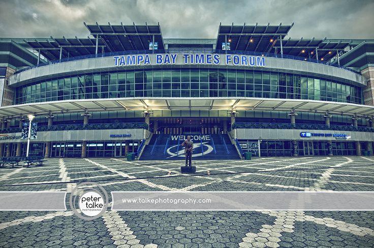 Tampa Florida Tampa Bay Times Forum HDR Tampa Bay Lightning 736x490