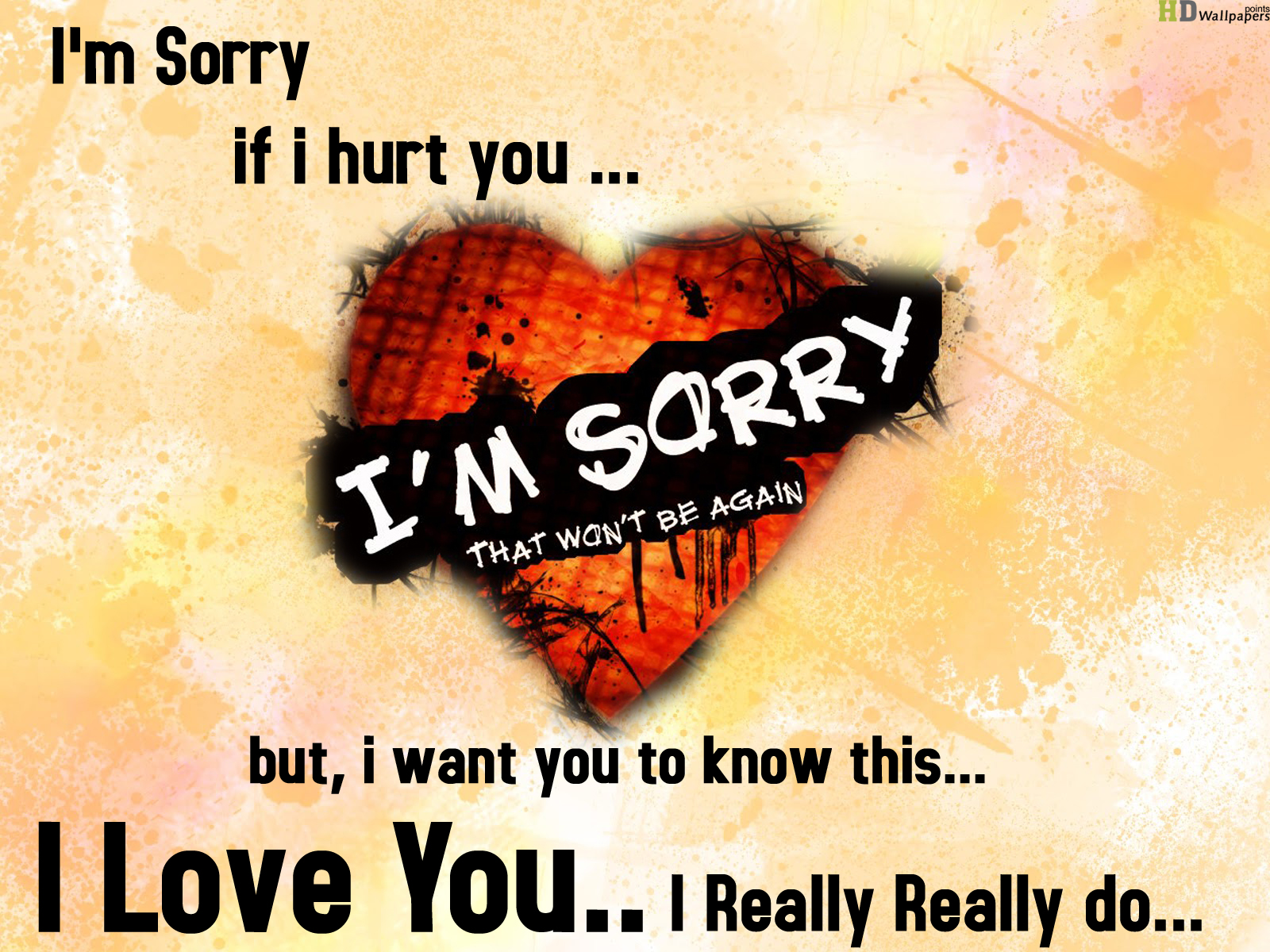 Sorry Wallpapers for Love - WallpaperSafari