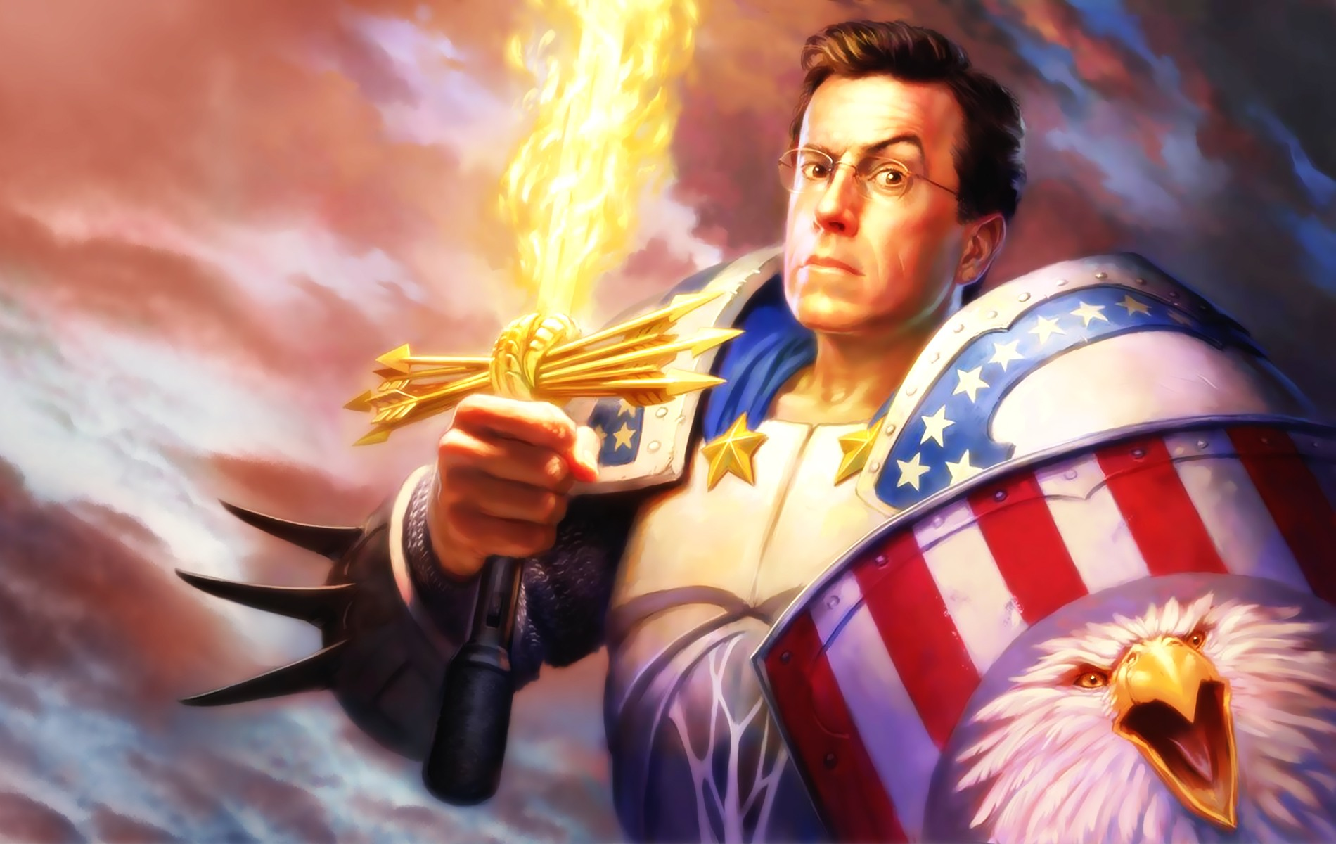 The Colbert Report Wallpapers and Background Images   stmednet 1900x1200
