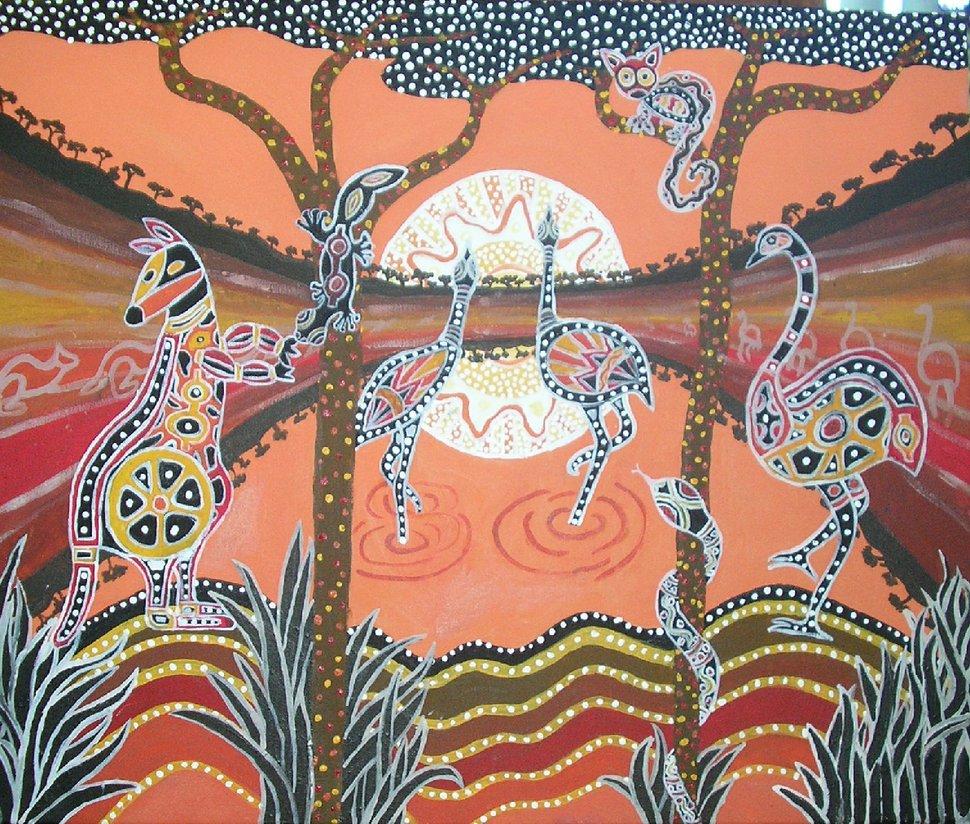 aboriginal art by sharkaholic 970x824