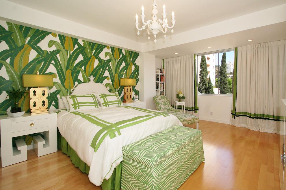 michelle workman banana leaf wallpaper beverly hills hotel gold greek 990x660