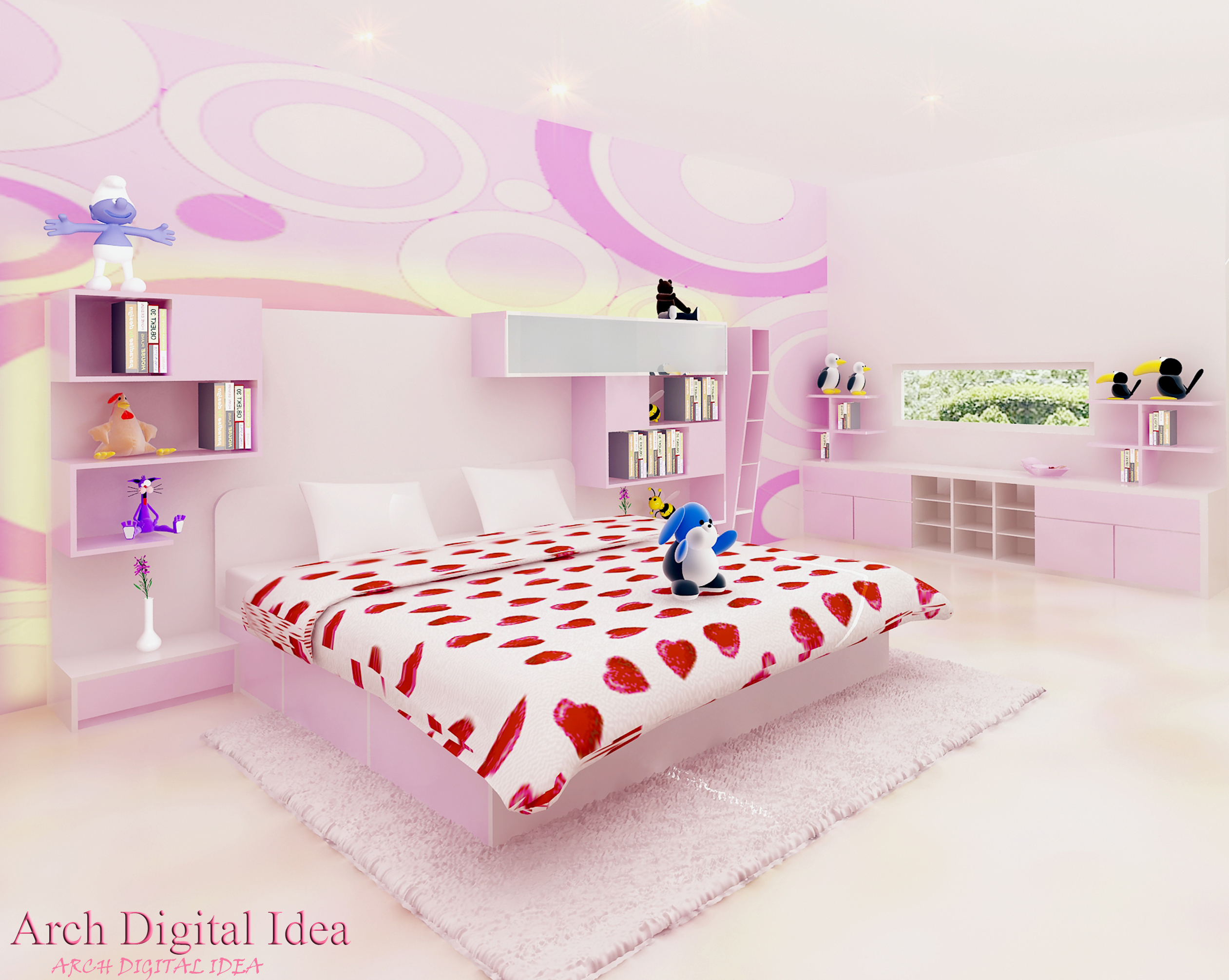 41 ] Wallpaper Dinding Kamar Tidur On WallpaperSafari