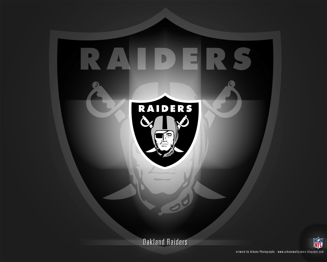 Arkane NFL Wallpapers Oakland Raiders   Vol 1 1280x1024