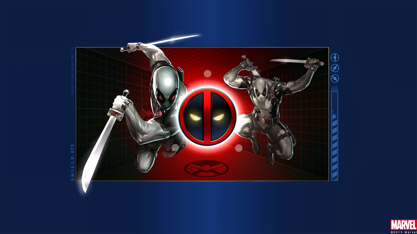 Deadpool Uncanny X Force Wallpaper 1366x768