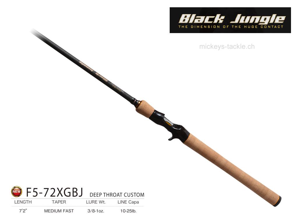 Megabass Black Jungle F5 72XGBJ deep Throat Custom 1024x768
