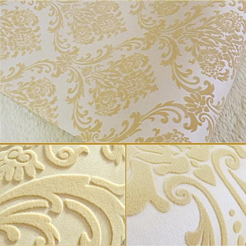 Velvet Flocked Wallpaper  Online ShoppingBuy Low Price Velvet Flocked 845x845