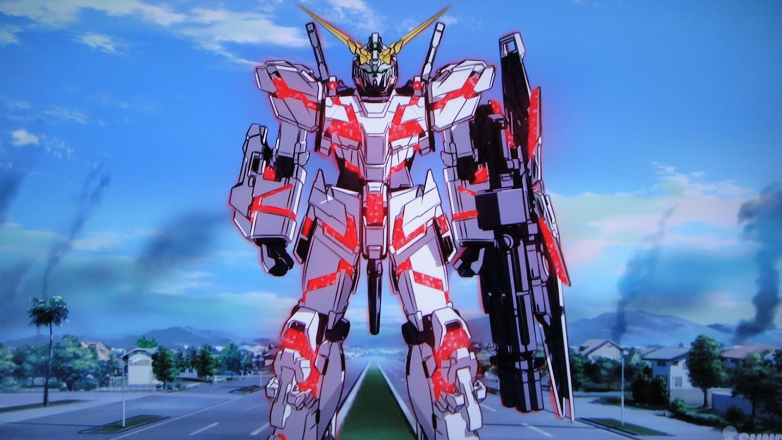45 Gundam Unicorn Wallpaper Hd On Wallpapersafari