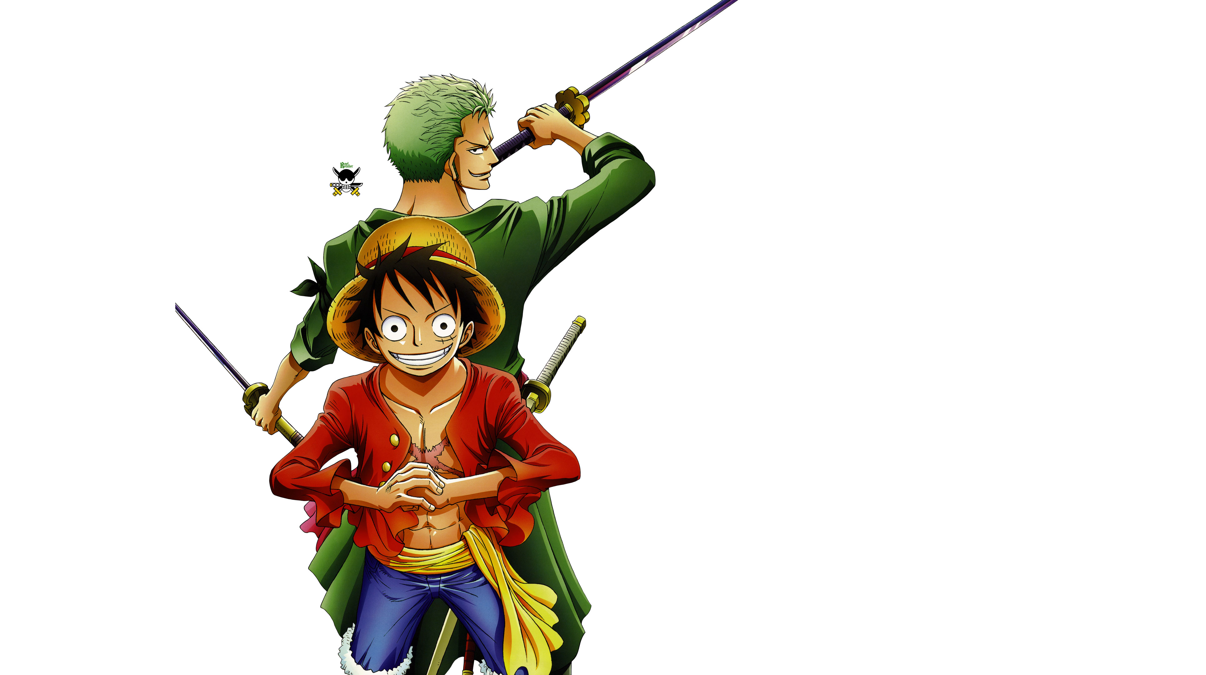 Luffy And Zoro   One Piece pictures 3860x2160