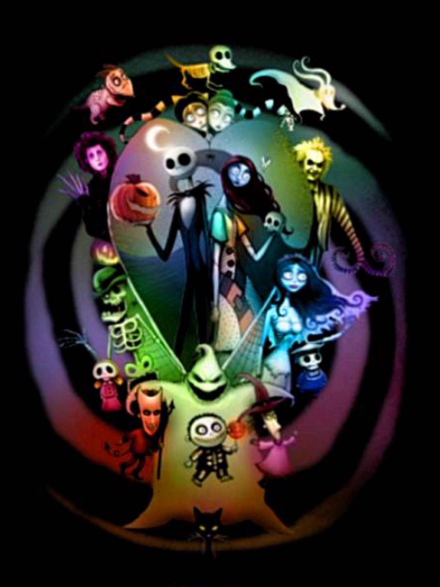 Jack and Sally Wallpapers 69 pictures 1536x2048
