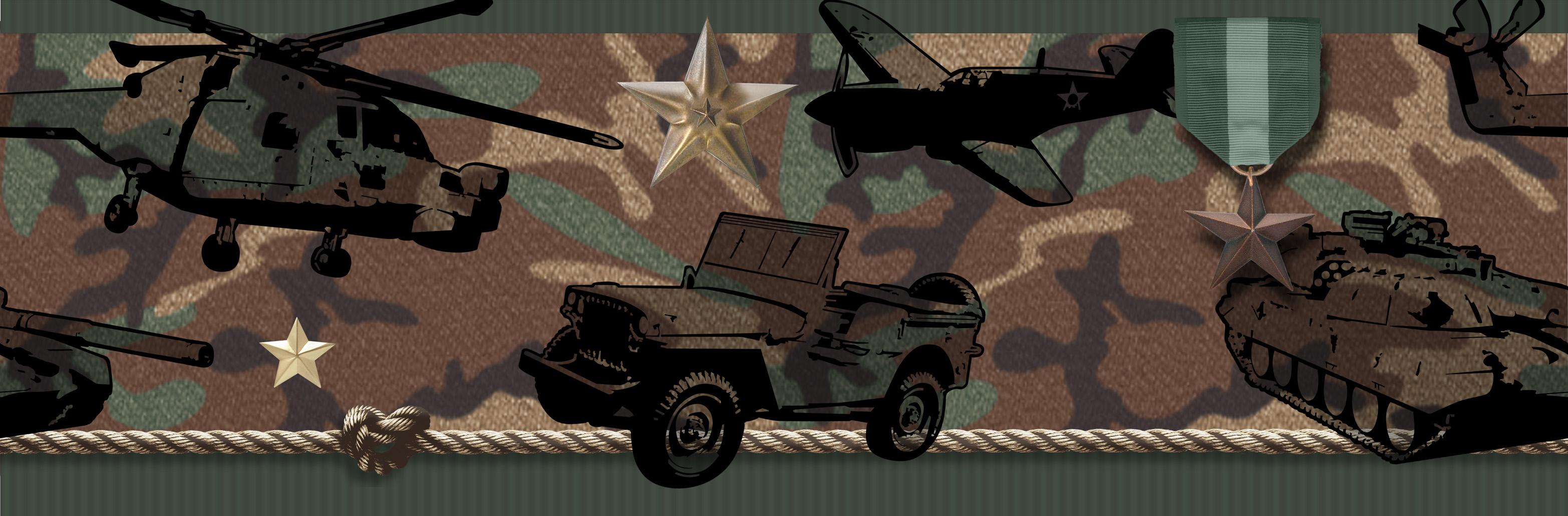 camo wallpaper border 3131x1030
